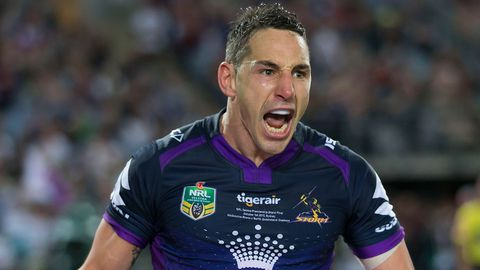 Billy Slater of the Storm