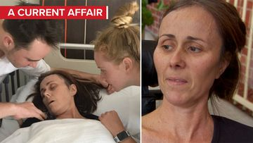 Red tape stops tumour mum going home to die