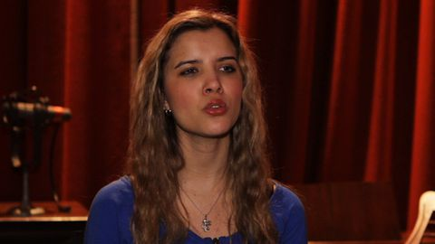 Studio exclusive: <i>The Voice</i>'s Rachael Leahcar sings <i>Sound of Music</i> classic