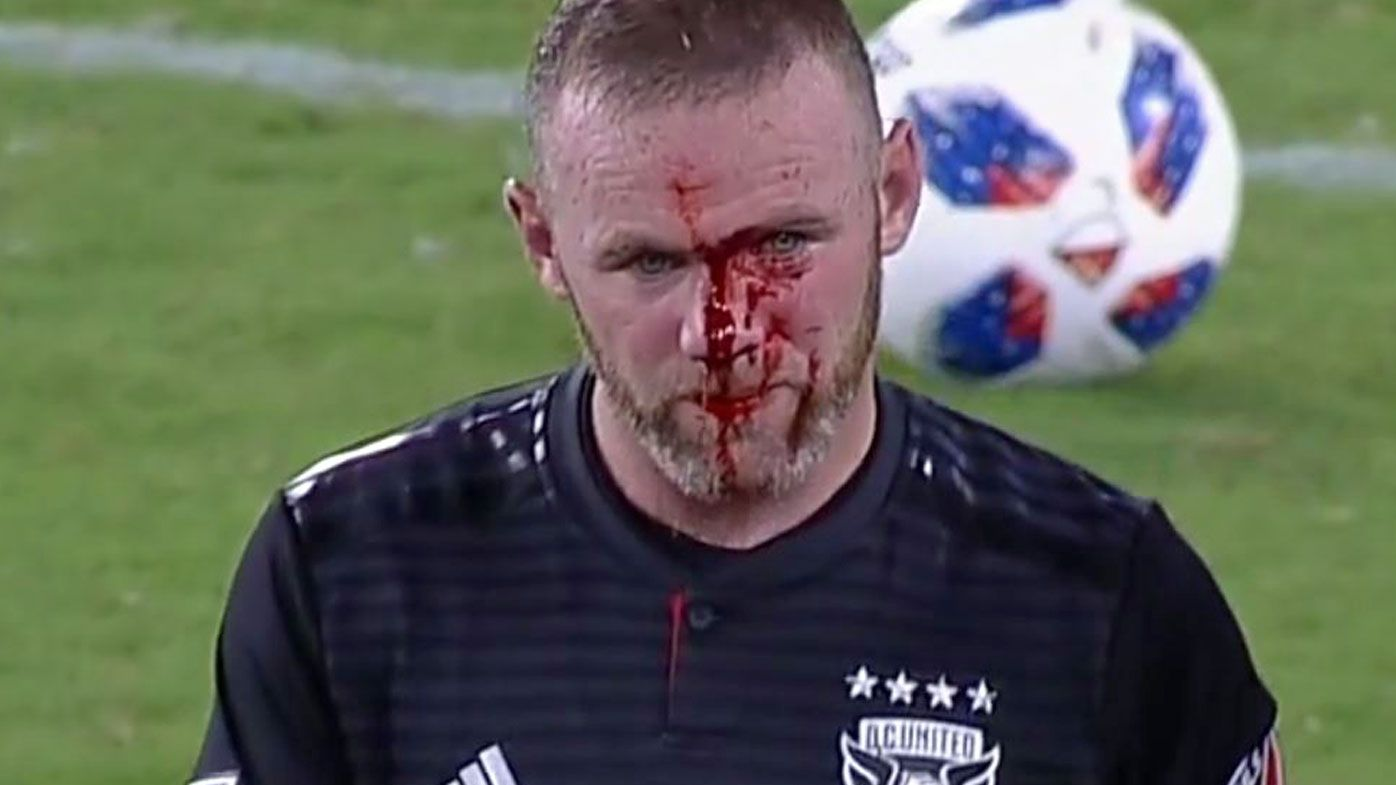 Rooney's first MLS goal helps DC United beat Rapids