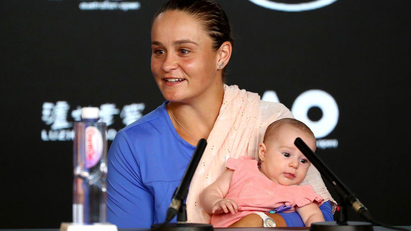 Australian tennis legend Mark Woodforde calls out Ash Barty's press conference stunt
