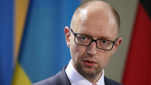 Ukraine prime minister resigns following a mid-week parliamentary bust up