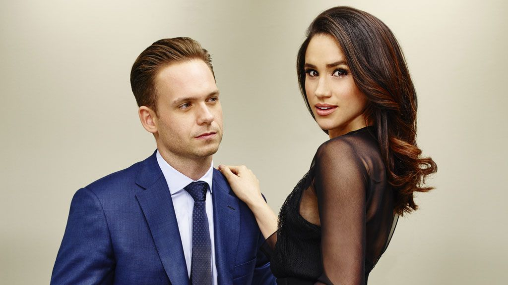 Patrick J. Adams jumps to Meghan Markle's defence following racist comments