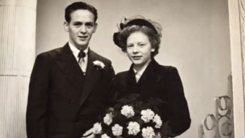 The couple has been married for almost 70 years. Picture: 9NEWS