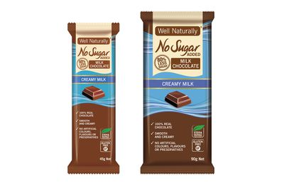 Well Natural No Added Sugar Milk Chocolate