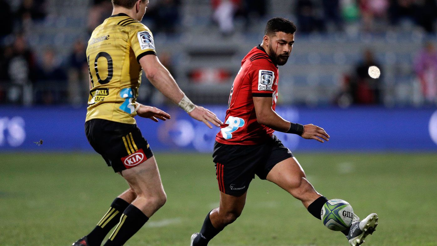 Dominant Crusaders into Super Rugby final after beating the Hurricanes