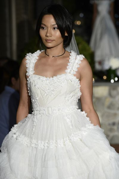 Po de Arroz Bridal Fall 2018.