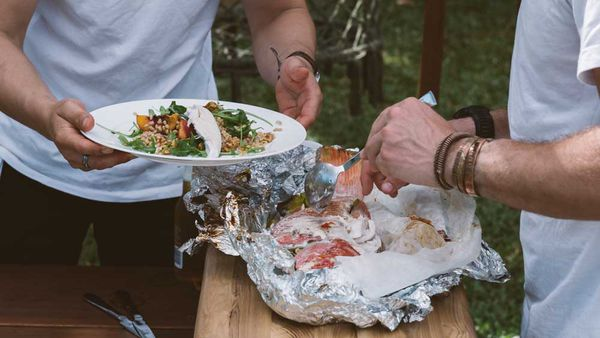 Hayden Quinn's Asian barbecue fish
