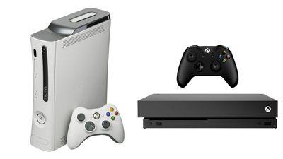 Xbox 360 vs Xbox One X