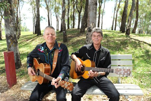 Phil Emmanuel (right) and brother Tommy toured the world as the Emmanuel Brothers. Picture: AAP