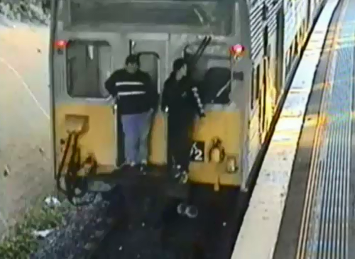 Sydney Trains is urging anyone who sees somebody train surfing to report it to police and rail staff immediately.
