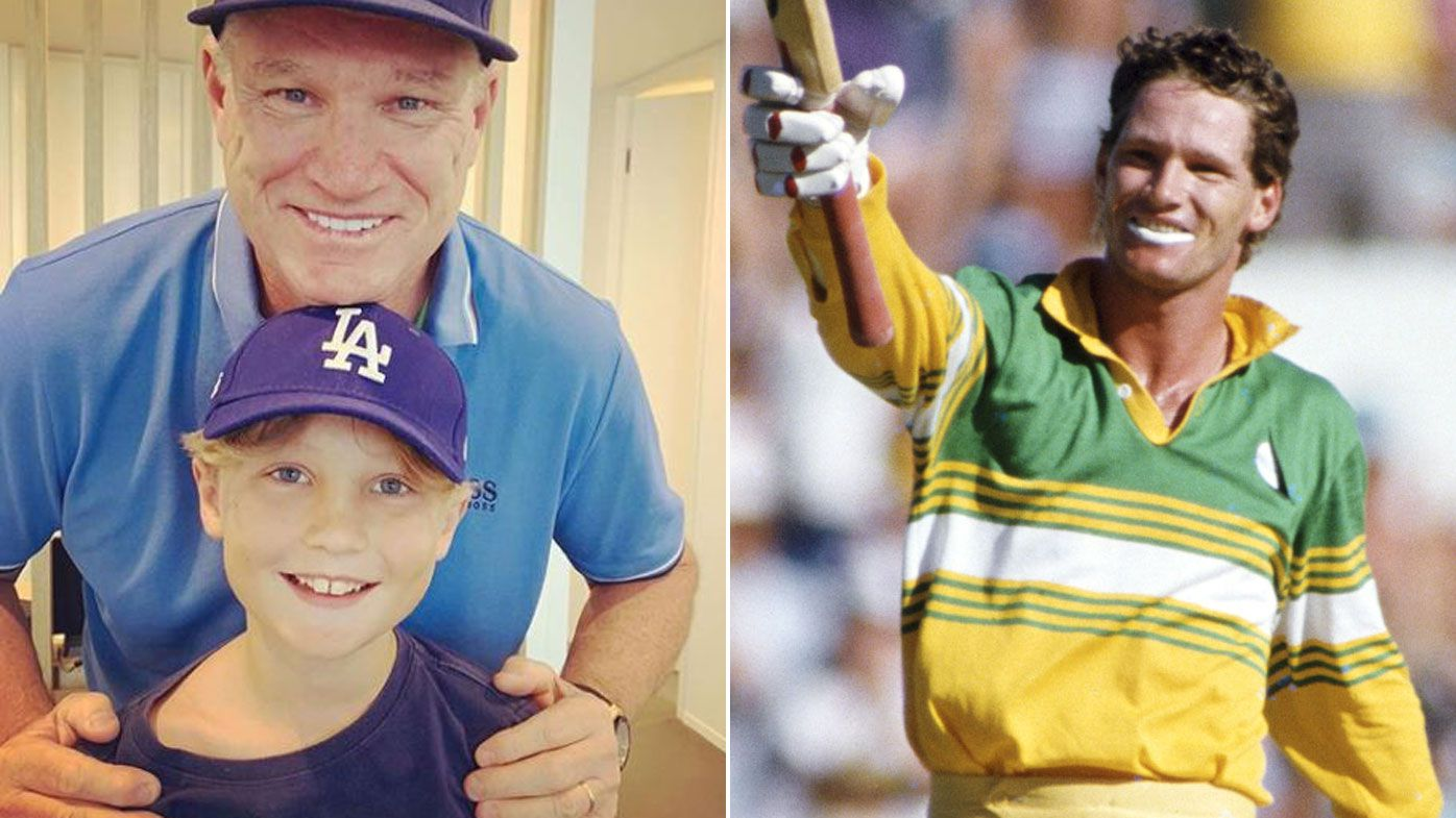 Dean Jones' former lover speaks out on behalf of his son after cricket legend dies