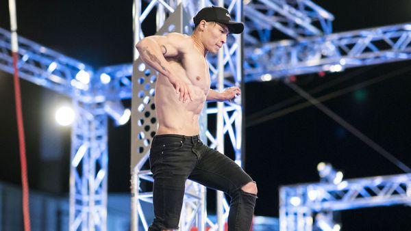 Winson Lam on Australian Ninja Warrior