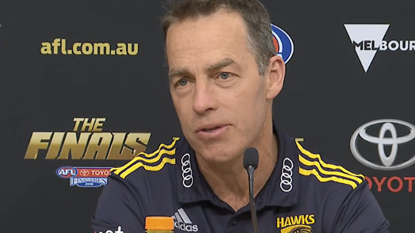 'Like a bunch of sheep': Clarkson rubbishes AFL final tactics talk