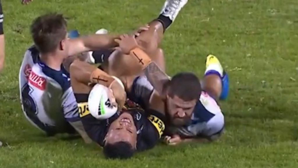 Cameron Munster escapes without charge after ugly tackle on Spencer Leniu