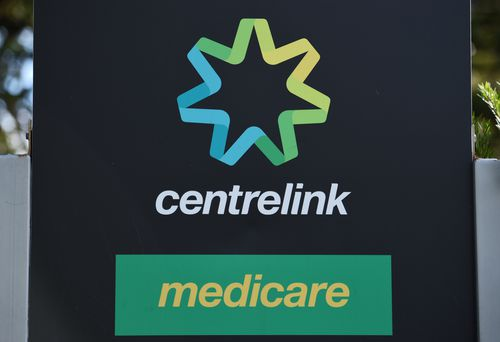 About 16 minutes is the average wait time when people call the Centrelink helpline. (AAP)