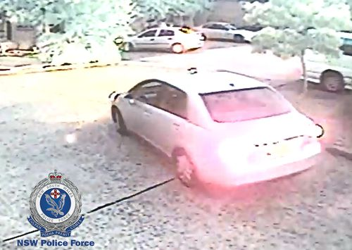 Police are appealing for information surrounding the driver of this silver Nissan Tiida.