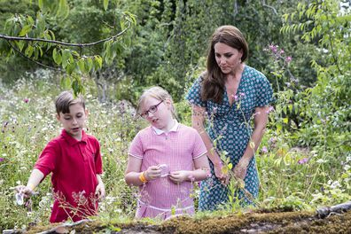 Kate is encouraging children to spend time outdoors for both physical and mental health benefits.