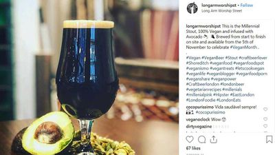 Avocado beer is a thing you can order