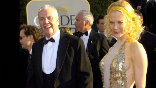 Smith says he is inspired by the late Dr Tony Kidman (left), superstar Nicole Kidman's father.