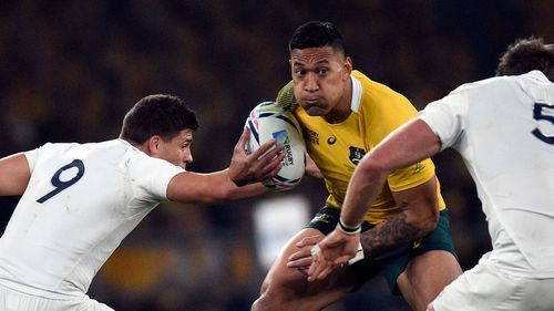 Wallabies name Folau, McMahon and Mitchell to face Wales