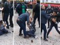 Emmanuel Macron's security chief filmed beating protester