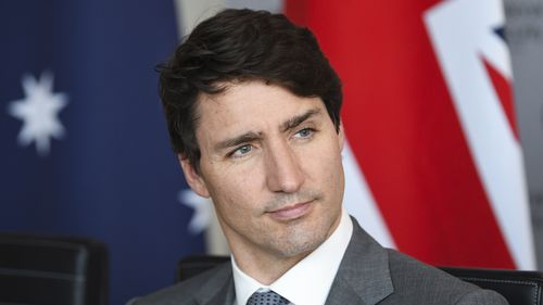 Canadian Prime Minister Justin Trudeau was also in attendance. (AAP)