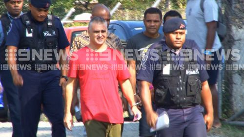 Nikolic has been charged with drug importation, unlawful possession of illicit drugs and failure to declare firearms. Picture: 9NEWS
