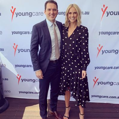 Pregnant Sylvia Jeffreys and husband Peter Stefanovic