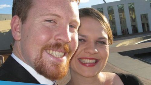 Nick and Sarah Jensen say their divorce is now 'untenable'. (Facebook)