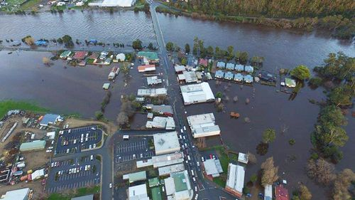 Flooding threats subside in Tasmania