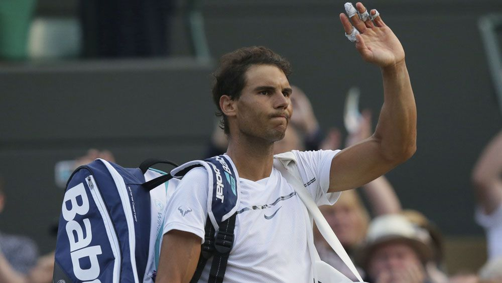 Rafael Nadal crashes out of Wimbledon after marathon match with Giles Muller