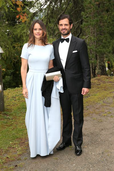 "<p>When it comes to stylish royal couples, <a href=""https://style.nine.com.au/2017/09/05/14/37/style_royal-mums/5"" target=""_blank"" title=""Princess Sofia and Prince Carl Philip of Sweden"" draggable=""false"">Princess Sofia and Prince Carl Philip of Sweden</a> come pretty close to knocking Meghan Markle and Prince Harry off their perch. </p> <p>The very fashionable pair had all eyes on them as they stepped out for the wedding of Prince Konstantin of Bavaria to Deniz Kaya in Switzerland over the weekend.</p> <p>The mother of two looked as chic as ever in a floor length pale blue gown with short sleeves, paired with a silver envelope clutch and black strappy heels.</p> <p>Meanwhile, Prince Carl looked equally as dapper in a classic black tuxedo and bow tie.</p> <p>Princess Sofia has become one of Europe's best dressed royals, constantly raising the style stakes and putting her own sartorial stamp on the latest trends.</p> <p>Click through to take a look at some of the Princess' most standout looks.</p>"