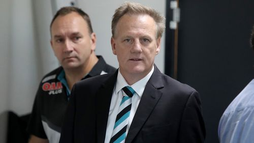 Club CEO Keith Thomas refused to label the incident as sexual assault, saying reported allegations had been 'way overplayed'. Picture: AAP.