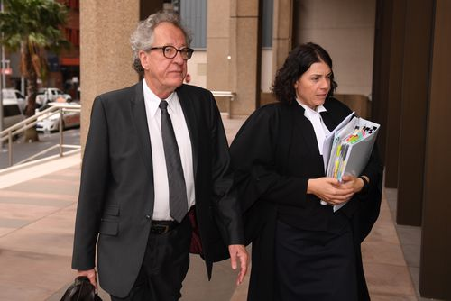 It was final admissions today on Day 13 of the trial.