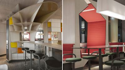An achitect gave McDonald's across France a fancy makeover