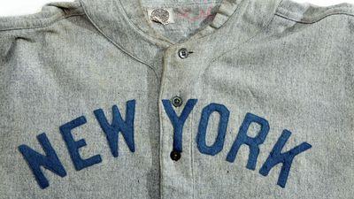 "Babe Ruth's Jersey<br class=""Apple-interchange-newline"">"