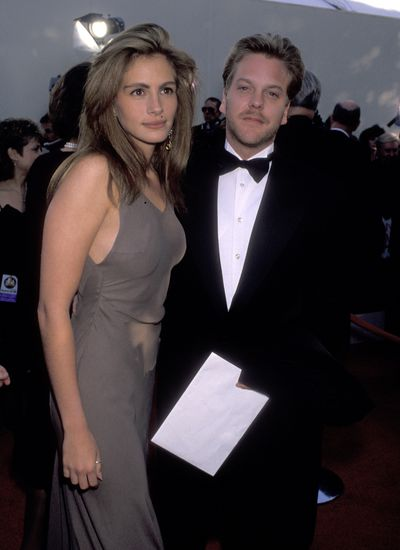 All blown out at the 1990 Academy Awards with then beau Kiefer Sutherland