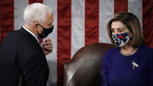 Mike Pence and Nancy Pelosi.