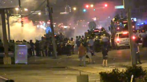 Violence escalates on the streets of Ferguson, Missouri.
