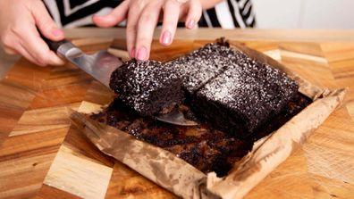 The microwave brownie in a paper bag hack is real