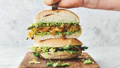 Jamie Oliver's VEG Baji Burger