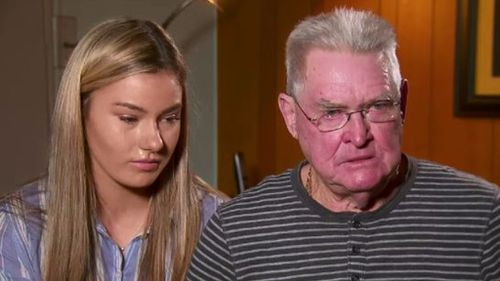 Cindy's father Phil, daughter Jesmine,  and sons Nicholas and Jonas continue to search for answers. (9NEWS)