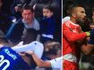Fan punches soccer player in ugly brawl