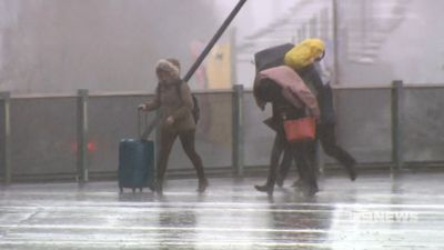 Rain, strong winds to hit Melbourne