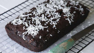 "Recipe:&nbsp;<a href=""http://kitchen.nine.com.au/2016/06/06/12/26/chocolate-coconut-and-banana-bread"" target=""_top"" draggable=""false"">Chocolate, coconut and banana bread</a>"