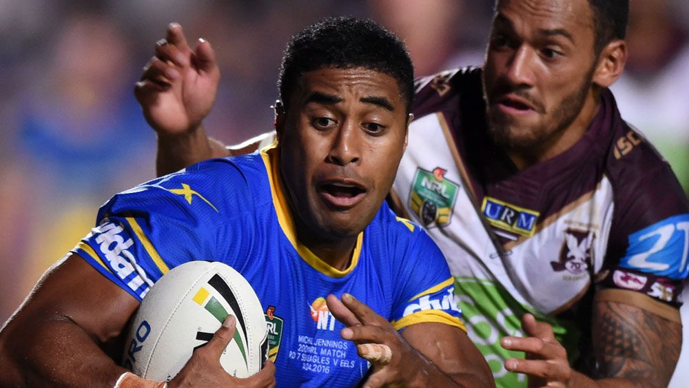 Eels win fourth straight over Manly