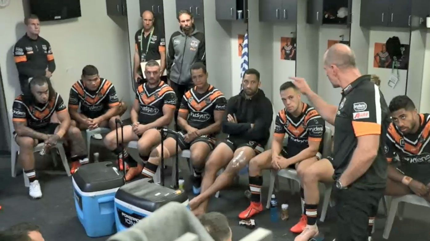 Michael Maguire's almighty spray for 'disappointing' Wests Tigers