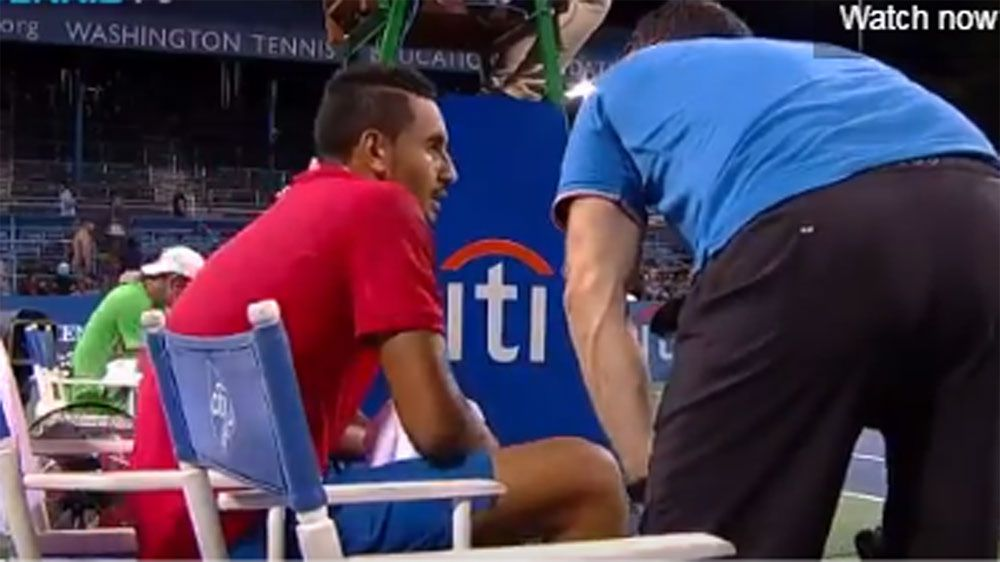 Nick Kyrgios booed after latest retirement