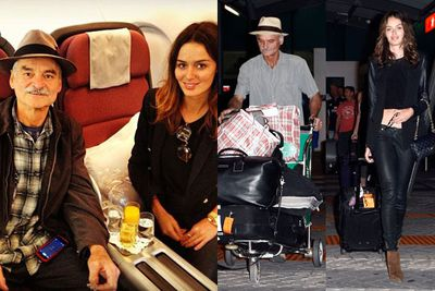 Nic says her Italian-Australian dad Giuseppe is so strict that he wouldn't let her make the move to New York for modeling alone when she was a teenager. Well, fair enough really!<br/><br/>(Images: Nic and her dad Giuseppe. Source: @nictrunfio/Instagram / Splash)